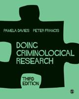 Doing Criminological Research 1473902738 Book Cover