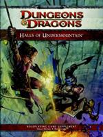 Halls of Undermountain: A 4th Edition Dungeons & Dragons Supplement 0786959940 Book Cover