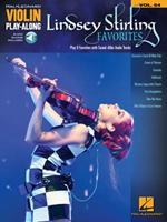 Lindsey Stirling Favorites: Violin Play-Along Volume 64 1495062872 Book Cover