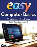 Easy Computer Basics, Windows 10 Edition 0789754525 Book Cover