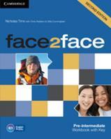 Face2face Pre-Intermediate Workbook with Key 1107603536 Book Cover