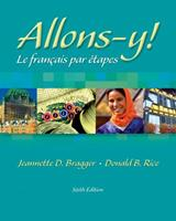 Allons-y!: Le Français par étapes (with Audio CD) 0838415563 Book Cover