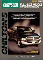 Chrysler Full-Size Trucks, 1989-96 0801988470 Book Cover
