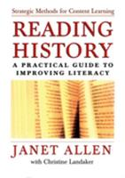 Reading History: A Practical Guide to Improving Literacy 0195165950 Book Cover