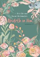 He Is the Vine - A Christian Journal (John 15: 5): A Scripture Theme Journal 1546740740 Book Cover