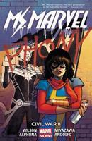 Ms. Marvel, Vol. 6: Civil War II 0785196129 Book Cover