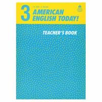 American English Today: Teacher's Book 3, Vol. 3 0194343111 Book Cover