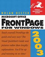 Microsoft Office FrontPage 2003 for Windows (Visual QuickStart Guide) 0321194497 Book Cover