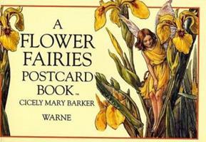 A Flower Fairies Postcard Book (Flower Fairies) 0723237107 Book Cover