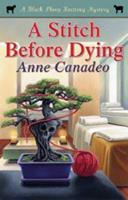 A Stitch Before Dying 1439191395 Book Cover