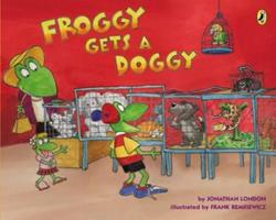 Froggy Gets a Doggy 0142422304 Book Cover