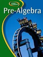 Glencoe Pre-Algebra, Student Edition (Glencoe Mathematics) 0078651085 Book Cover