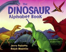 The Dinosaur Alphabet Book 0881064661 Book Cover
