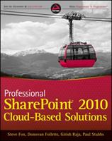 Professional Sharepoint 2010 Cloud-Based Solutions 1118076575 Book Cover