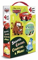 Shapes, Colors, Counting & More! (Disney/Pixar Cars) 0736431055 Book Cover