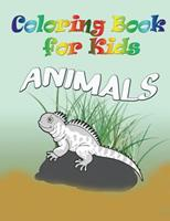 Coloring Book for Kids: Animals: Kids Coloring Book 163287931X Book Cover