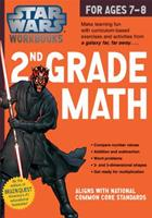 Star Wars 2nd Grade Math, for Ages 7-8 (Star Wars Workbooks) 0761178090 Book Cover