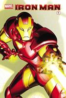 Marvel Universe Iron Man - Comic Reader 1 0785153837 Book Cover