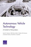 Autonomous Vehicle Technology: A Guide for Policymakers 0833083988 Book Cover