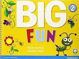 Big Fun 2 Sb W/CD-ROM 0133437434 Book Cover