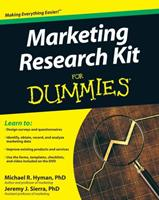 Marketing Research Kit for Dummies 047052068X Book Cover