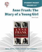 Anne Frank: Diary of a Young Girl - Student Packet ( Novel Units) 1561376078 Book Cover