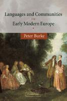 Languages and Communities in Early Modern Europe 0521535867 Book Cover