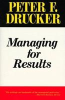 Managing for results 0060913398 Book Cover