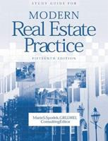 Study Guide For Modern Real Estate Practice 0793123038 Book Cover