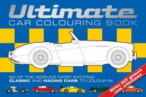 Ultimate Car Colouring Book 1909763128 Book Cover