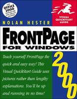 FrontPage 2000 for Windows (Visual QuickStart Guide) 0201354578 Book Cover