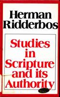 Studies in Scripture and its authority 0888150121 Book Cover