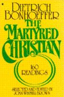 The Martyred Christian 0020840209 Book Cover