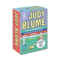 Judy Blume Boxed Set (Fudge-a-Mania, Otherwise Known as Sheila the Great, Tales of a Fourth Grade Nothing, Superfudge) 0142501964 Book Cover