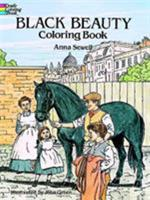 Black Beauty (Coloring Book) 048629272X Book Cover