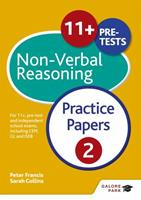 11+ Non-Verbal Reasoning Practice Papers 2 1471869075 Book Cover