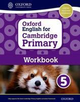 Oxford English for Cambridge Primary Workbook 5 0198366337 Book Cover