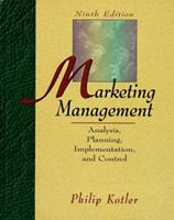 Marketing Management: Analysis, Planning, Implementation, and Control