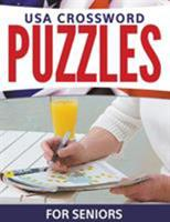 USA Crossword Puzzles for Seniors 1681273101 Book Cover