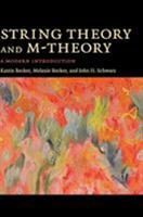 String Theory and M-Theory: A Modern Introduction 0521860695 Book Cover