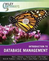 Wiley Pathways Introduction to Database Management 0470101865 Book Cover