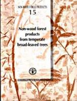 Non-Wood Forest Products from Temperate Broad-Leaved Trees 925104855X Book Cover