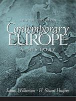 Contemporary Europe: A History [With Access Code] 0205678882 Book Cover