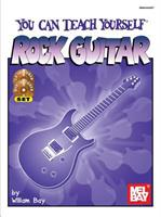 You Can Teach Yourself Rock Guitar [With CD and DVD] 0871662671 Book Cover