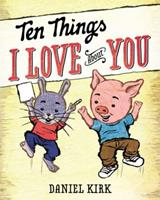 Ten Things I Love About You 0399252886 Book Cover
