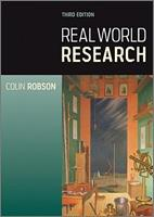 Real World Research: A Resource for Users of Social Research Methods in Applied Settings 1405182407 Book Cover