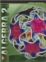 Glencoe Algebra 2 Student Edition C2014 0076639908 Book Cover