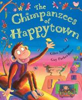 The Chimpanzees Of Happytown 0439925053 Book Cover