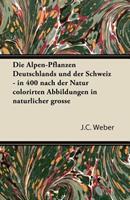 Die Alpen-Pflanzen Deutschlands Und Der Schweiz - In 400 Nach Der Natur Colorirten Abbildungen in Naturlicher Grosse 1447433173 Book Cover