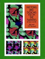 Patterns and Designs from the Twenties in Full Color 0486276902 Book Cover